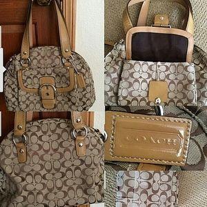 AUTHENTIC COACH SIG C XLARGE BAG